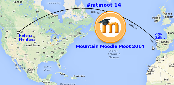 Mountain Moodle Moot 2014 event followed through #mtmoot Twitter hashtag